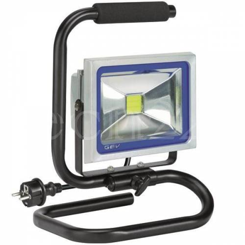 GEV LED Strahler Lampe als Baustrahler ausrichtbar 20W