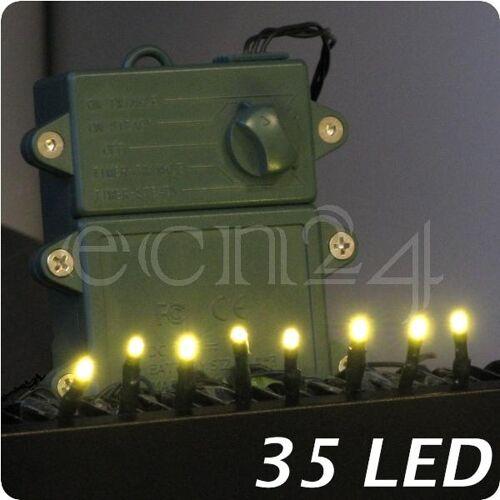 FDL LED Lichterkette mit Zeitschaltuhr Batteriebetrieb