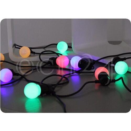 FDL Partylichterkette 12m mit 20 Farbwechsellampen
