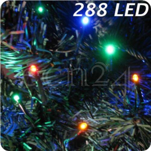 FDL LED Lichterkette mit 3mm kleinen bunten LED