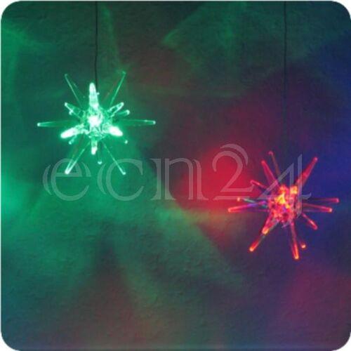 FDL Lichterkette mit 7 LED Sternen und Lichteffekt