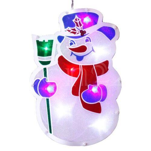 Best Season LED Fensterdeko 26cm als Weihnachtsfigur
