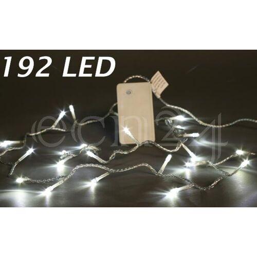 Kaemingk Batterie LED Lichterkette mit Zeitschaltuhr weiß