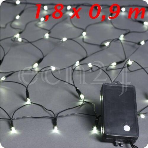 Kaemingk LED Lichterkette Netz batteriebetrieben