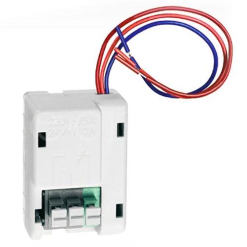 EsyLux Relais für 230V Rauchwarnmelder oder Gasmelder
