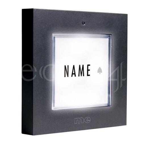 M-E Türklingel Klingeltaster mit LED Licht für 8-12V