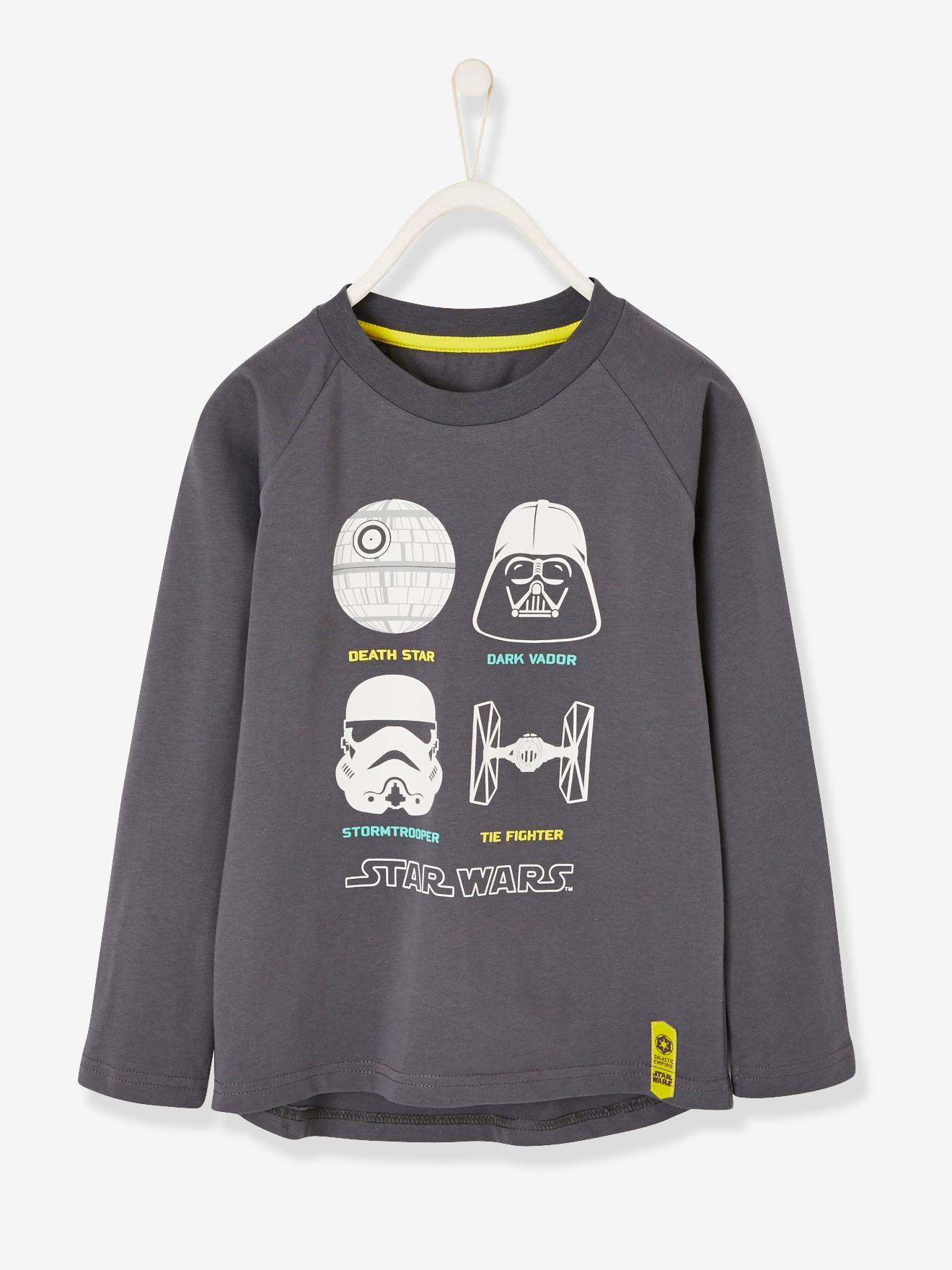Star Wars Jungen Shirt STAR WARS grau Gr. 92