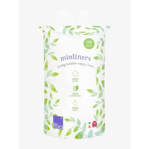 Mitac Bambino Mio, mioliners (Windelvlies), 160 Vlies weiß