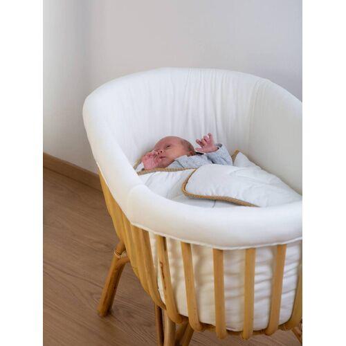 Childhome Bettumrandung für Babybett aus Rattan CHILDHOME weiß