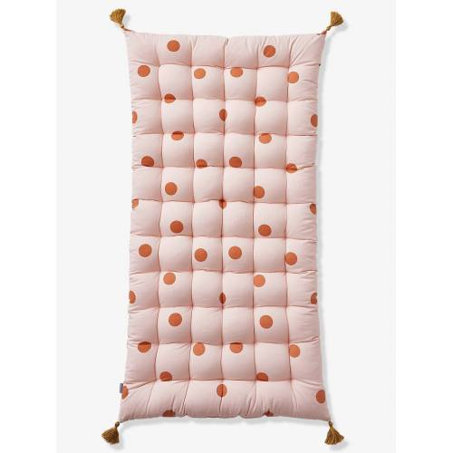 Vertbaudet Bodenmatratze mit Pompons, Tupfen rosa von vertbaudet
