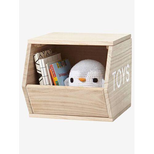 """Vertbaudet Holz-Aufbewahrungsbox """"Toys"""" natur von vertbaudet"""