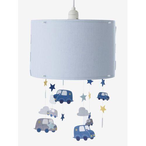 Vertbaudet Hänge-Lampenschirm für Kinderzimmer, Autos blau von vertbaudet
