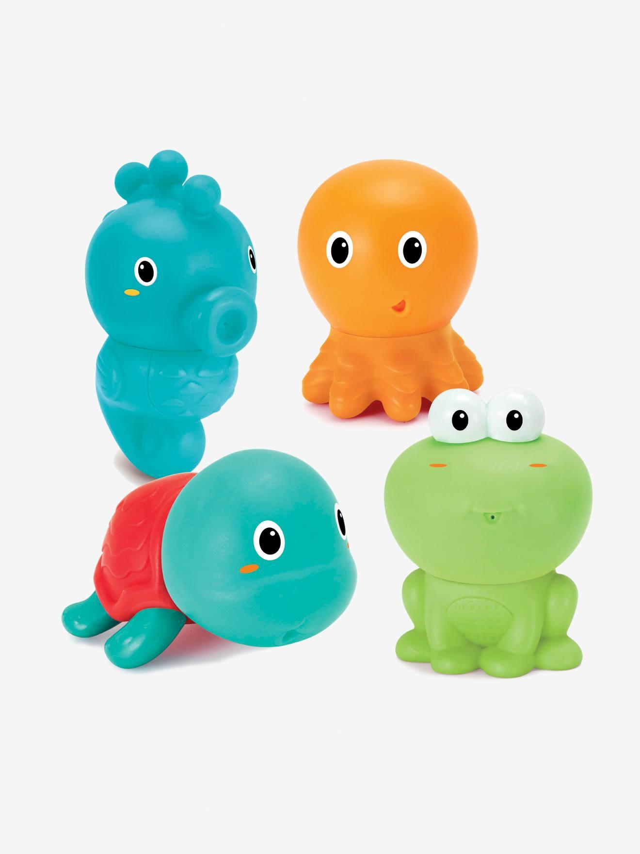 Infantino 4er-Set Kinder Spritzfiguren INFANTINO®
