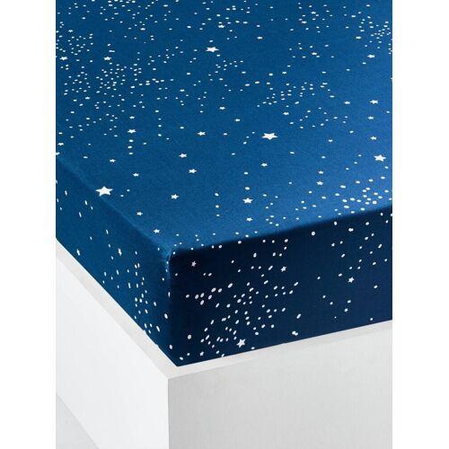"""Vertbaudet Kinder Spannbettlaken """"Polarstern"""" blau Gr. 90x200 von vertbaudet"""