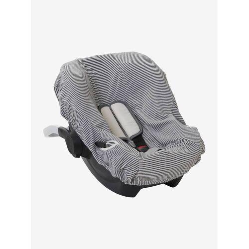 Vertbaudet Schonbezug für Babyschale, elastisch weiß  von vertbaudet