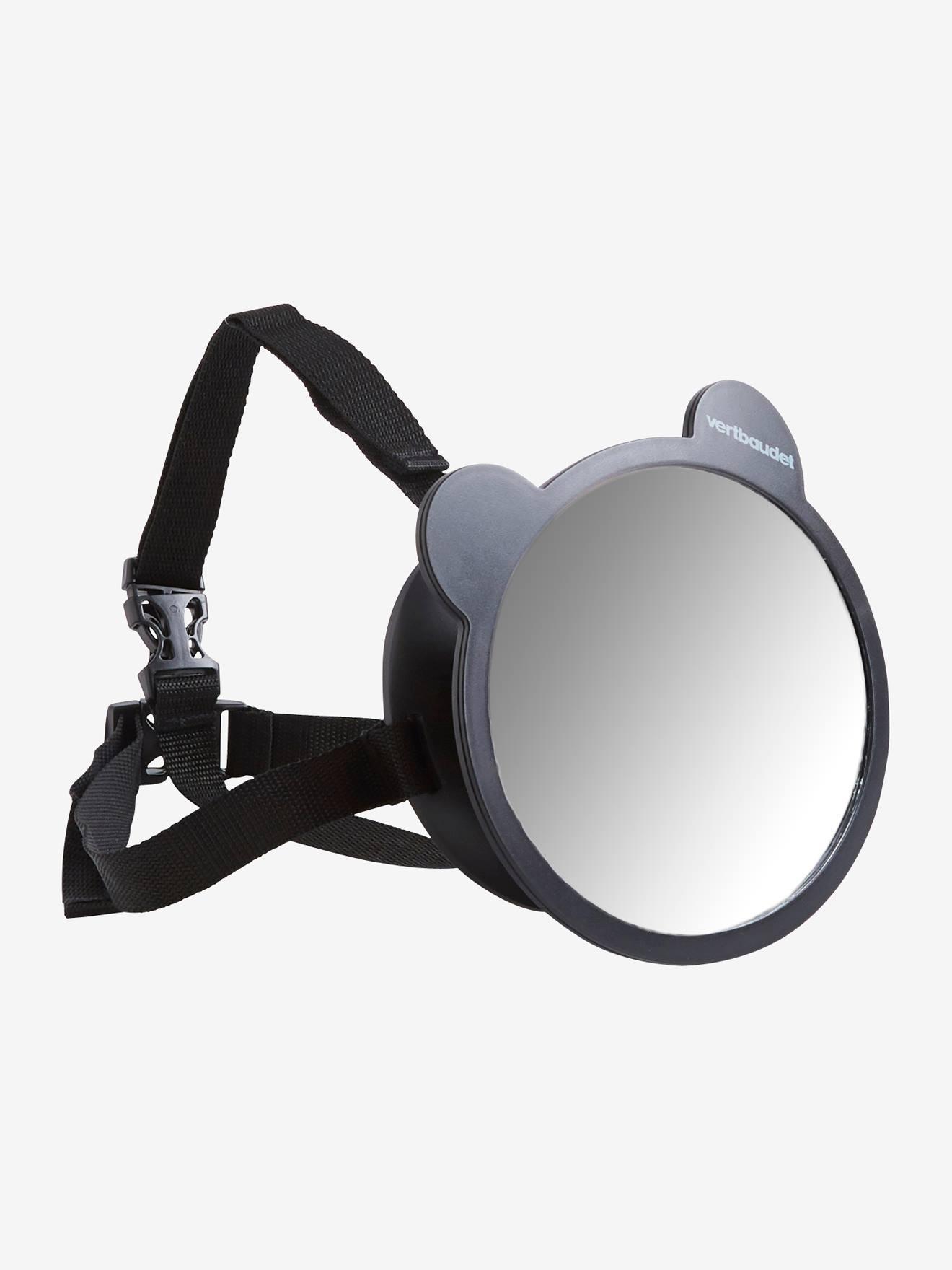 Vertbaudet Auto-Babyspiegel für die Kopfstütze schwarz von vertbaudet
