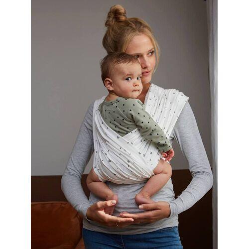 Vertbaudet 2er-Pack Baby Tragetücher ohne Knoten weiß Gr. M von vertbaudet