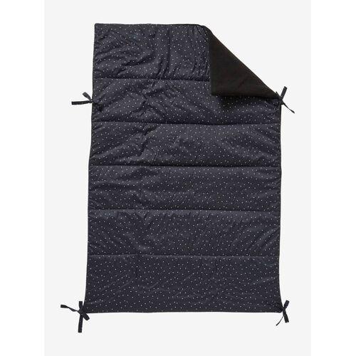 Vertbaudet Wendbare Kinderwagen-Decke schwarz/dreiecke von vertbaudet