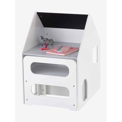 Vertbaudet Set aus Schreibtisch & Stuhl für Kleinkinder weiß/grau von vertbaudet