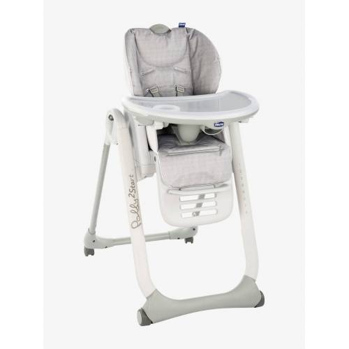 "Chicco 3-in-1-Hochstuhl ""Polly2Start"" CHICCO® happy silver"