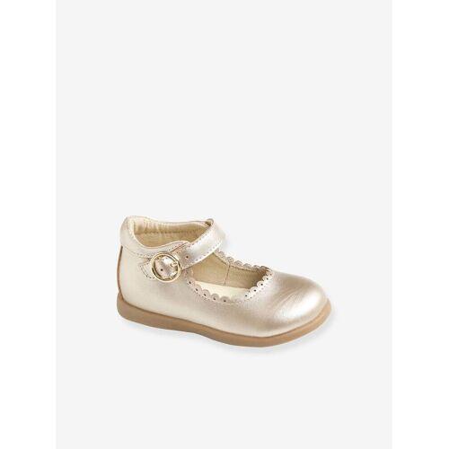 Vertbaudet Festliche Mädchen Baby Ballerinas gold Gr. 26 von vertbaudet