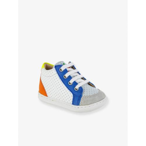"Shoo Pom Baby Boots ""Bouba Zip Box"" SHOO POM weiß/blau/orange Gr. 20"