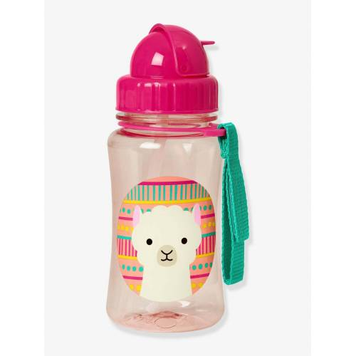 "Skip Hop Trinkflasche mit Strohhalm ""Zoo"" SKIP HOP® pink lama"