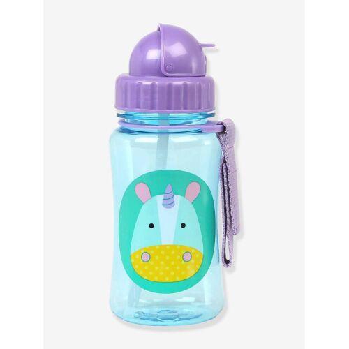 """Skip Hop Trinkflasche mit Strohhalm """"Zoo"""" SKIP HOP® violett einhorn"""