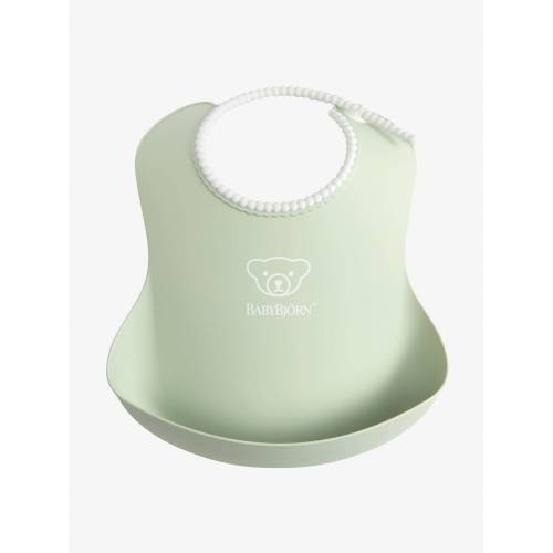 Baby Bjorn Lätzchen mit Auffangschale BABYBJÖRN® grün