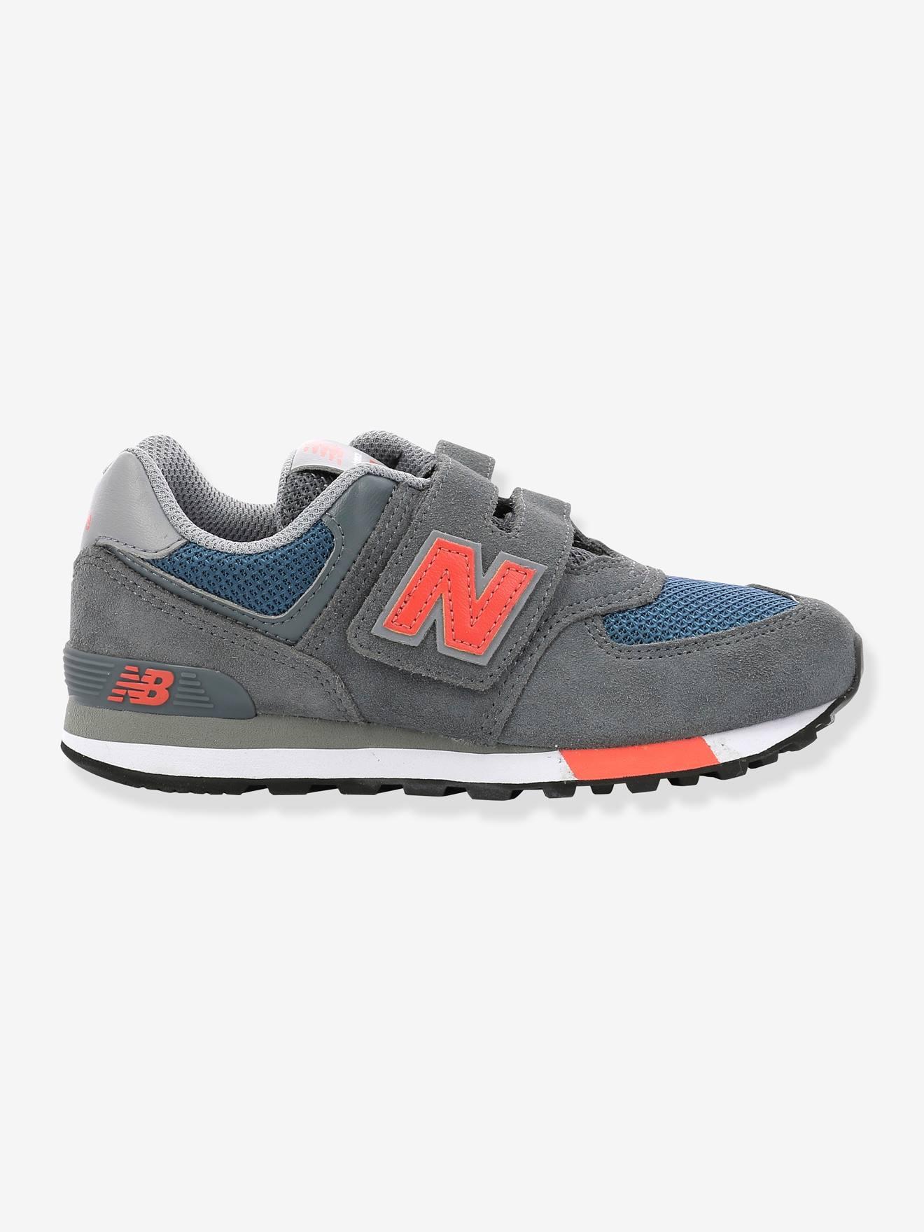 """Balance Baby Jungen Klett-Sneakers """"574"""" NEW BALANCE® grau Gr. 21"""