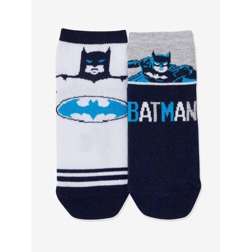 Batman 2er-Pack Jungen Socken DC Comics BATMAN™ weiß/blau/grau Gr. 31/34