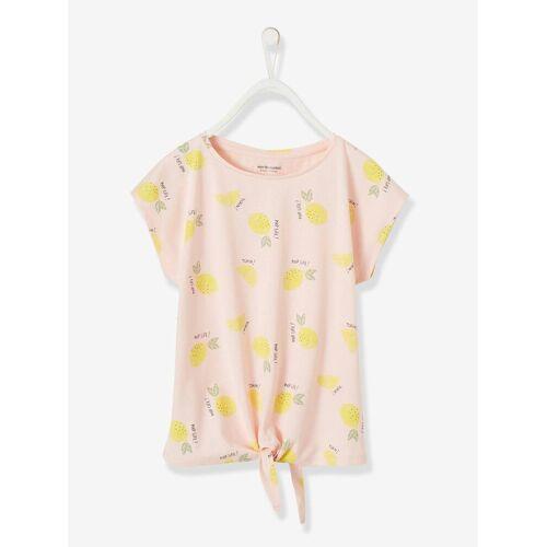 Vertbaudet Mädchen T-Shirt rosa zitronen Gr. 86 von vertbaudet