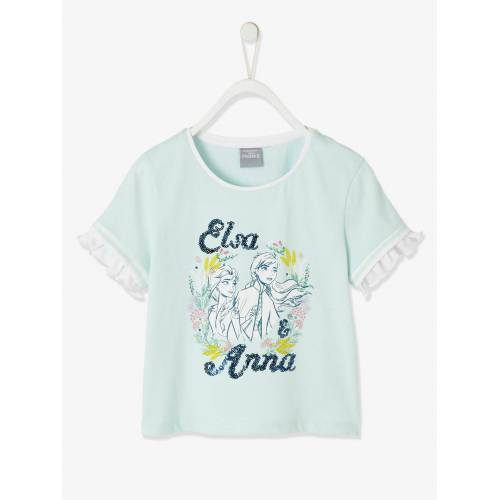 Die Eiskonigin Pailletten T-Shirt DIE EISKÖNIGIN grün Gr. 98/104