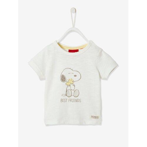 Snoopy Baby T-Shirt PEANUTS® SNOOPY, Bio-Baumwolle weiß Gr. 80