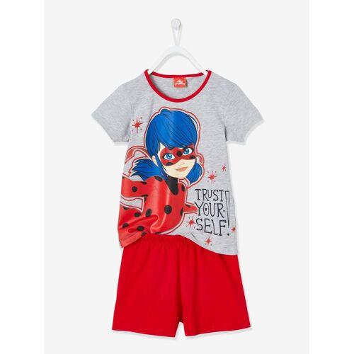 Miraculous Kurzer Mädchen Schlafanzug MIRACULOUS grau/rot Gr. 128