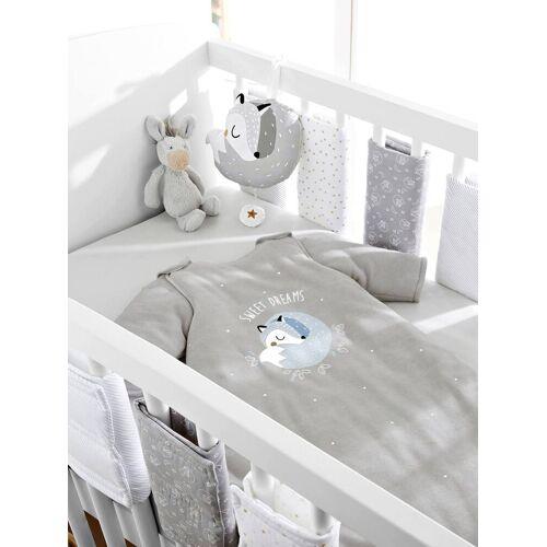 Vertbaudet Polster für Babybett-Gitterstäbe weiß  von vertbaudet