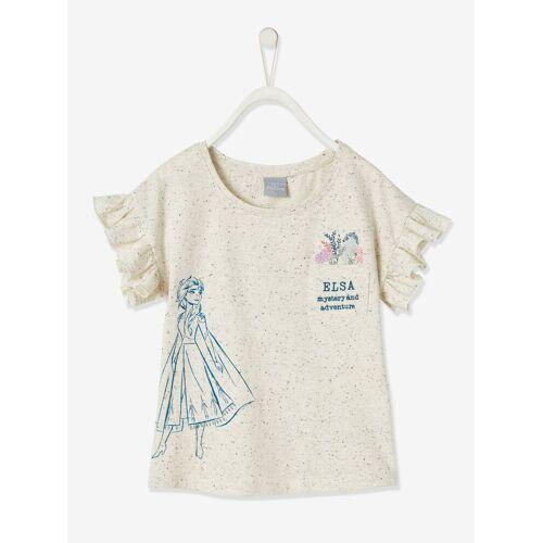 Die Eiskonigin Mädchen T-Shirt DIE EISKÖNIGIN beige Gr. 128
