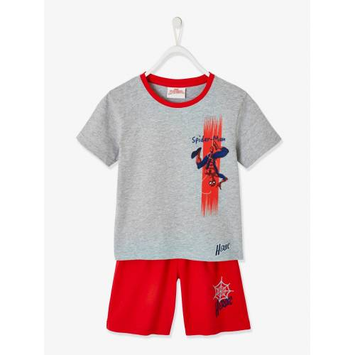 Spiderman Kurzpyjama SPIDERMAN grau/rot Gr. 98/104