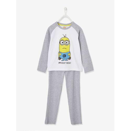 Minions Jungen Schlafanzug MINIONS weiß Gr. 86