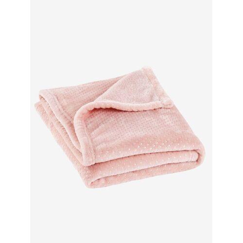 Vertbaudet Babydecke, Fleece rosa Gr. 75x100 von vertbaudet