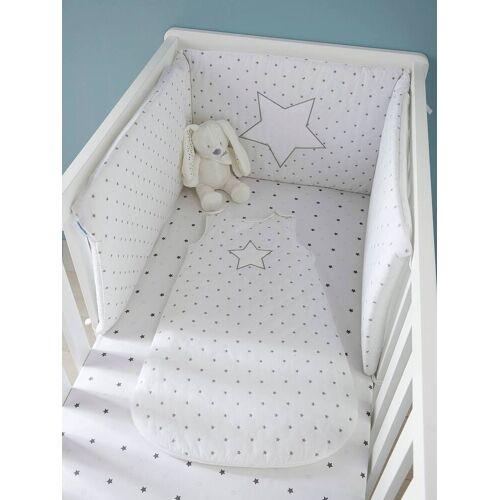 """Vertbaudet Bettumrandung """"Sternenregen"""" für Babybett weiß Gr. 180x40 von vertbaudet"""