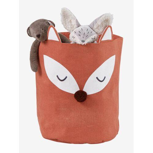 Vertbaudet Aufbewahrungskorb für Kinderzimmer, Fuchs braun von vertbaudet