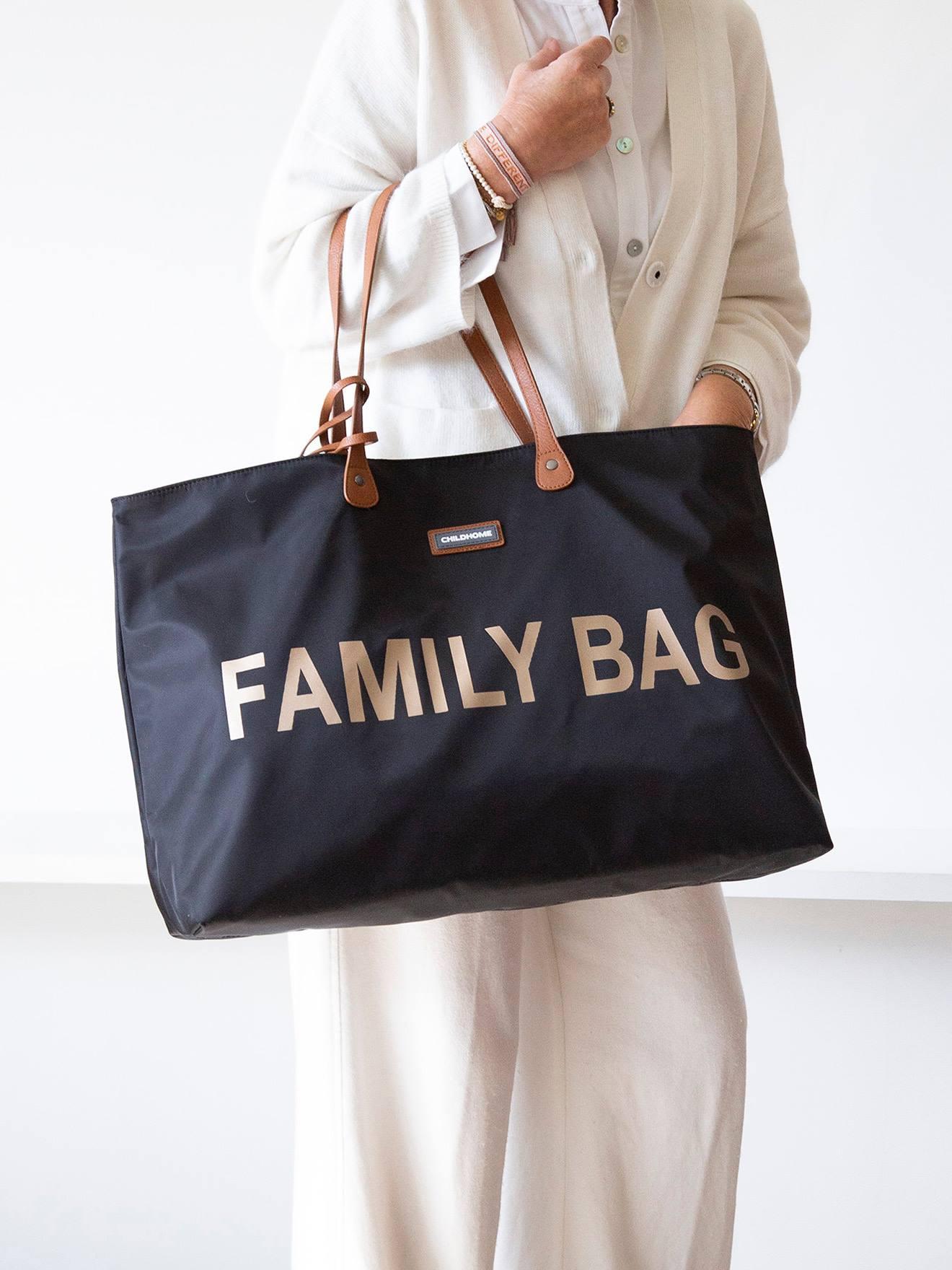 "Childhome Wickeltasche ""Family Bag"" CHILDHOME nachtblau"