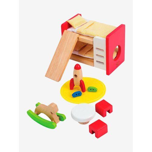 Hape Puppenhausmöbel, Kinderzimmer HAPE