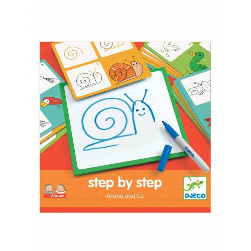 "Djeco Step by step-Malset ,,Animals"" von DJECO"