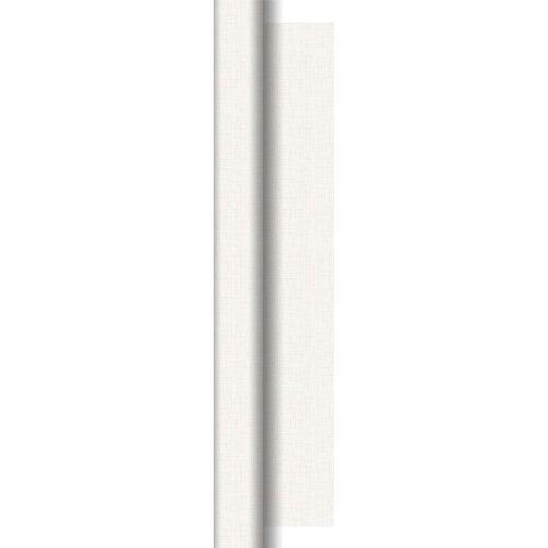 Duni Tischdeckenrolle Dunisilk+ Linnea weiß 0,84x40m 1 St.