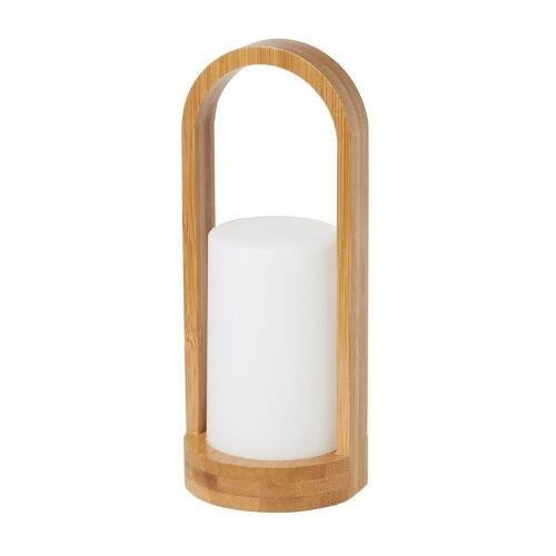 Duni LED Kerzenhalter Good Bambus Easy 240x100mm 1 St.