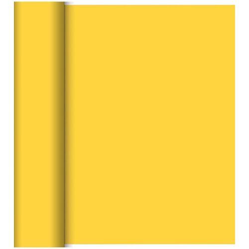 Duni Tischläufer Tete a Tete Dunicel gelb 0,40x24 Meter 1St.