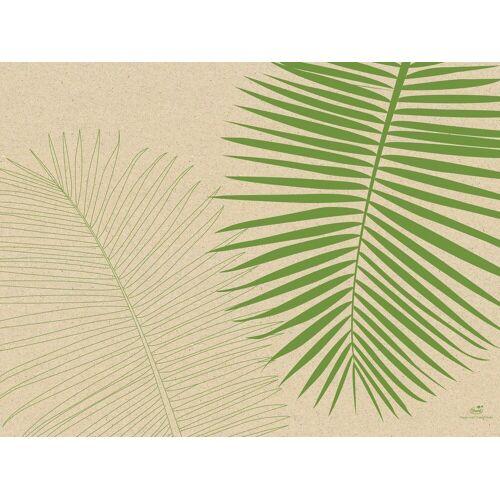 Duni Tischset Papier Leaf (Graspapier) 30x40 250St.