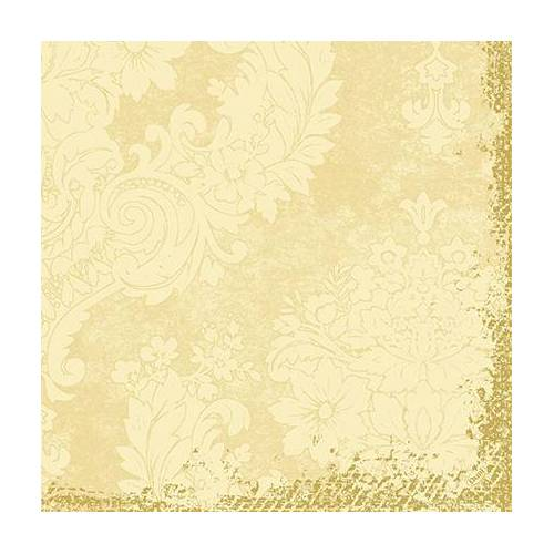 Duni Klassik Servietten Royal cream 40x40 4lag 50St.